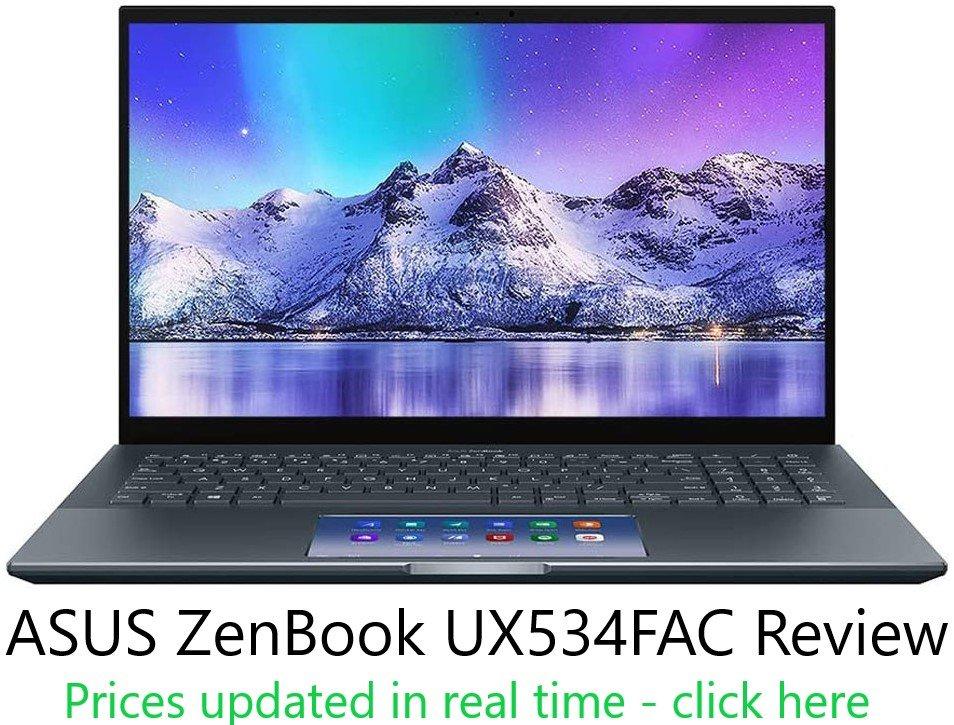 ASUS ZenBook UX534FAC Review